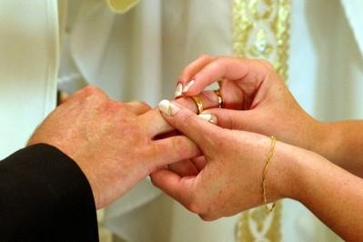Ślubna msza święta