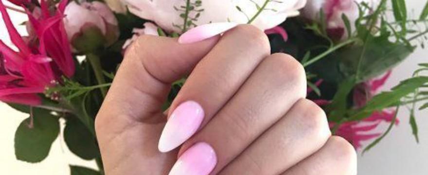 5 pomysłów na paznokcie ślubne ombre